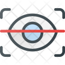 Scan Retina Eye Icon