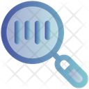 E Commerce Barcode Magnify Glass Icon