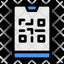 Barcode Smartphone Scanning Icon