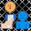 Scan Body Temperature Icon