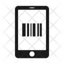 Barcode Mobile Phone Icon