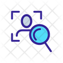 Biometric Verification Art Icon