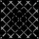 Fingerprint Scan Safety Icon