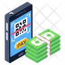 Digital Payment Scan Payment Qr Code Scan Icon