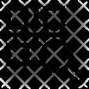 Scan Bar Code Qr Icon
