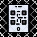 Qr Code Mobile Icon