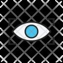 Scan retina Icon