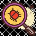 Scan Virus Scan Scan Bug Icon