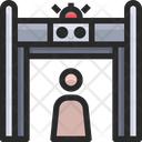 Scanner Security Scanner Airport Security Icon