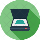 Scanner Device Scan Icon