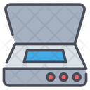 Scanner Technology Scanning Icon