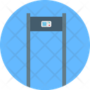 Scanner Gate Body Scanner Airport Security Icon