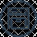 Device Copy Machine Icon