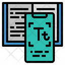 Text Scan Type Icon