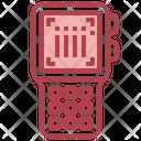 Scanning Barcode Icon