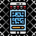 Scanning Code Icon
