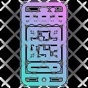 Scanning Code Scan Code Qr Icon