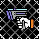 Scanning Gun Laser Gun Icon