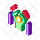 Anti Application Backpack Icon