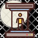 Scanning Tube Scanning Science Icon