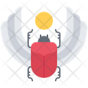 Scarab Bug Wing Icon