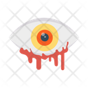 Scare Eye Blood Icon