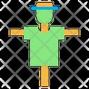 Scarecrow Farm Scarecrow Protecting Farm Icon