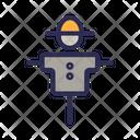 Scarecrow Farm Field Icon