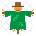 Scarecrow Agriculture Cultivation Icon