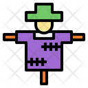 Scarecrow Agriculture Farming Icon