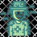 Scarecrow Dead Horror Icon