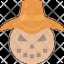 Scarecrow Farm Hay Icon