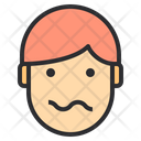 Scared Emotion Face Icon