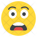 Scared Scare Fright Icon