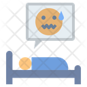 Scared Nightmare Sleepless Icon