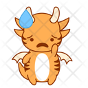 Scared Disappointed Unhappy Icon