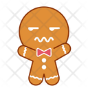 Face Gingerbread Mood Icon