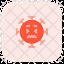 Scared Coronavirus Emoji Coronavirus Icon
