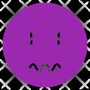 Scared Mood Face Icon