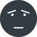 Scared face Icon