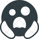 Scared Death Emoji Icon