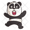 Scared Panda Icon