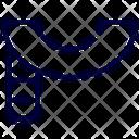 Scarf Winter Accessory Icon