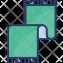 Neck Scarf Woolen Icon