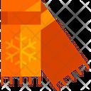 Scarf Shawl Neckwear Icon