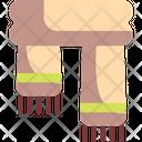 Scarf Garment Fall Icon