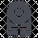 Accessories Muffler Scarf Icon