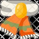 Scarf Garment Winter Icon