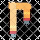 Scarf Shawl Wearing Icon