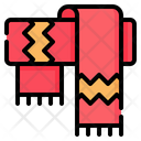 Scarf Winter Clothes Icon